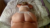 Milf with a big white ass loves to fuck