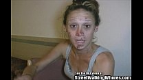 Skank Hooker Pleases Men In Hotel Room video