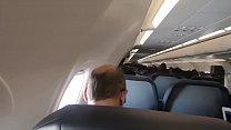 Public Airplane Blowjob