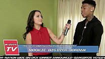 BANGBROS - Asian Reporter Mi Ha Takes On Mookie... Thumbnail