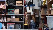 Fake pregnant with stolen goods teen caught by security - hdroom xxx thumbnail