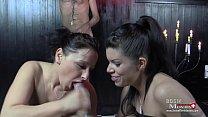 2 Dominas treiben perverse Spiele mit Sklaven - SPM VivienAmanda TR08 Vorschaubild