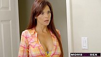 MomsTeachSex - Slutty MILF Makes StepSon Cum Inside! S8:E10 pornhub video