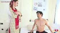 13818 Landlady torments young tenant Niks Indian preview
