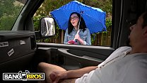 BANGBROS - Scarlett's Wild Ride On The Bang Bus During A Rainy Day thumbnail