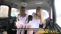 Fake Taxi Angels fuck santas little helper