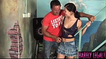 Young minx Jeanine facialized after big dick banging Vorschaubild