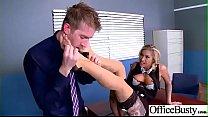 (Kleio Valentien) Hot Office Girl With Big Boobs Love Hard Sex movie-16
