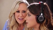 Gamer Step Daughter and her Mom # Brandi Love a...