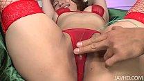Tiara Ayase sweet trimmed muff fingered until s...