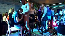 Amateur Czech slut Mariana lets 3 strippers pound on her cunt before taking a massive load on her face in PHGC 33