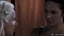 This Aint Game Of Thrones Kirsten Price Hd; Lesbian, Blonde, Brunette, Pornstar, Licking, Kissing, F
