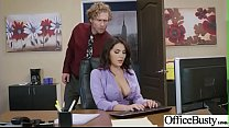 Slut Girl (Valentina Nappi) With Round Huge Tits Get Nailed In Office vid-29