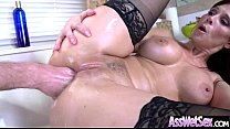 Horny Girl (syren De Mer) With Big Butt Get Oiled And Anal Sex Movie-30