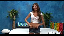 Remarkable brunette young August Ames gets banged really hard
