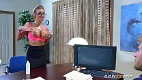 Brazzers - Britney Amber gets fucked at work thumbnail