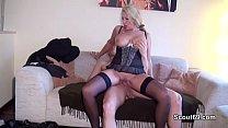 German MILF seduce Young Boy to Fuck when Home alone Vorschaubild