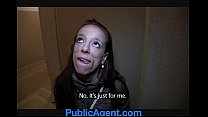 PublicAgent Vivian gets fucked in the arse for cash preview image