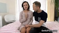 Sweet chick spreads slim snatch and gets deflorated thumbnail