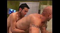Young Man Fucks Bald Older Muscle Guy In Bathtube