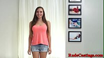 Casting petite teen hardfucked at sexaudition Thumbnail