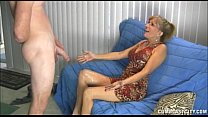 Naughty Mature Lady Gets A Cumblast Thumbnail