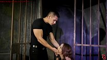 Mega sexy sex slave in dungeon.BDSM movie.Hardcore bondage sex. Vorschaubild