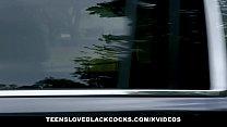 TLBC - Teen Sucks BBC in Backseat of Car