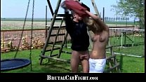 16815 Slutty blondes fighting and cock sucking preview
