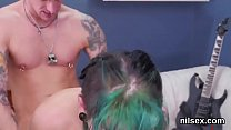 Naughty chick was brought in anal assylum for harsh treatment
