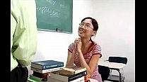 tiny asian student gets cock [안경쓴여자 glasses]