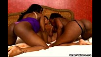 Toni Sweets and Jada Fire in a hot interacial threesome