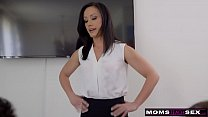 MomsTeachSex - Step Mom Shows My Football Team How To Fuck S11:E3 - VideoMakeLove.Com