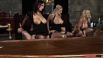 Charming Babes Engages in a Mind-blowing Group Sex  Porn