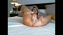 MILF plays with dildo on webcam - freebustymilf.com pornhub video