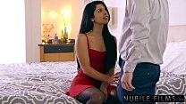 Super Sexy Gina Valentina Seduces Moms Boyfriend Thumbnail