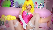 Peach covered in cum by Mario and Bowser - 69VClub.Com