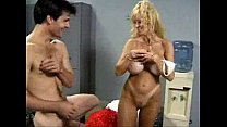 milfsonly.blogspot.com-Cheerleader milf with huge tits fucked on bench