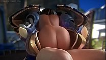 Pharah gets fucked