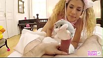 Shona River Part 1 - Pet Slave Cat Cosplay serves her Master