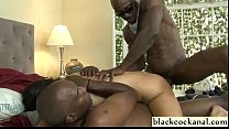 Interracial dp with ass to mouth's Thumb