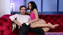 Alexis Tae rides on top of Jakes pole and start bouncing! thumbnail
