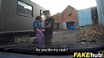 Fake Cop Unfaithful girlfriend feels the force pornhub video