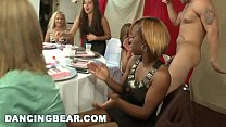 DANCING BEAR - Big Dick Sucking Orgy Party For The Slutty Bride To Be thumbnail