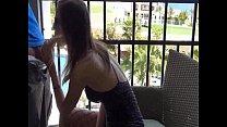 German girl has anal sex on balcony with cum load Vorschaubild