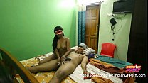 Mask Indian GF Sucking And Fucking By Her Boyfr... Thumbnail