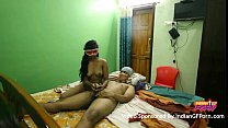 13711 Mask Indian GF Sucking And Fucking By Her Boyfriend In Sleazy Hotel Room preview