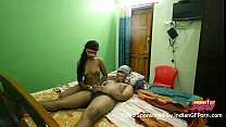 Mask Indian GF Sucking And Fucking By Her Boyfriend In Sleazy Hotel Room Preview