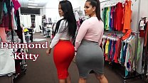 Diamond Kitty And Spicy J The Shoping Parte 1/2