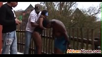 2 Africans are abused and suck cock in the rains-3 thumbnail